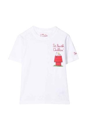 T-shirt bianca unisex MC2 SAINT BARTH KIDS | 8 | TSH0001EMSC1N