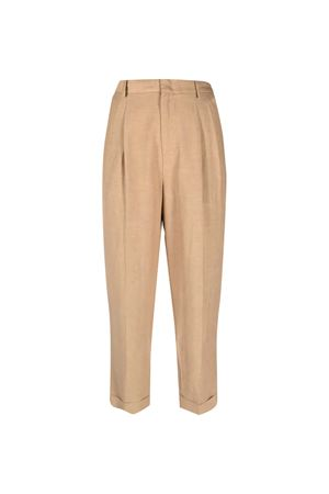 Pantaloni sartoriali crop Merci Merci | 9 | P295RAFFIA