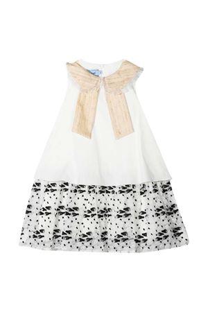 Cream and ivory dress Mi Mi Sol kids  MI.MI.SOL | 11 | MFAB226TS0480CRM