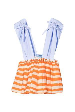 Multicolor striped dress Mi Mi Sol kids MI.MI.SOL | -675681197 | MFTP040TS0421STAMP2