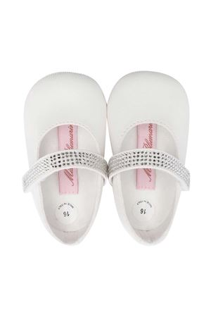 Miss Blumarine white ballet flats  Miss Blumarine | 12 | MBL3317PANNA