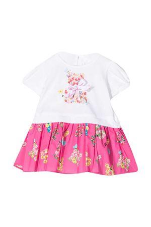 Miss Blumarine white and pink dress  Miss Blumarine | 11 | MBL3589B/CIC