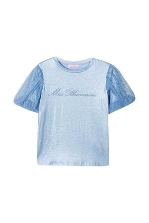 T-shirt blu Miss Blumarine Miss Blumarine   8   MBL3793FIORDB