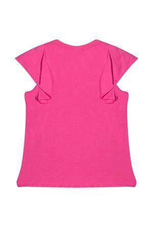 T-shirt teen con stampa Miss Blumarine Miss Blumarine | 8 | MBL3821CICLAMINOT