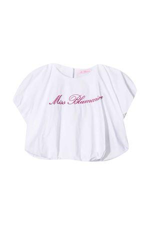 Top bianco teen Miss Blumarine Miss Blumarine | 40 | MBL3827BIANCOT