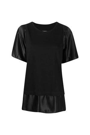 T-shirt nera MM6 MM6   8   S52GC0182S23588900