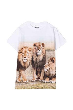 White t-shirt with print Molo MOLO | 8 | 1S21A2287428