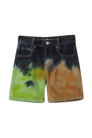 Shorts denim con fantasia tie dye Molo MOLO | 30 | 1S21H1064705