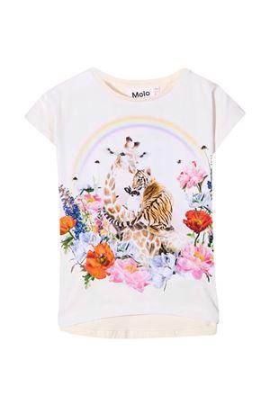T-shirt avorio Molo MOLO | 8 | 2S21A2397452