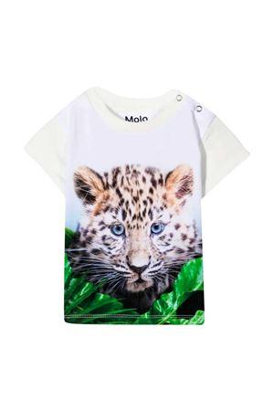 White t-shirt with multicolor print Molo MOLO | 8 | 3S21A2017442
