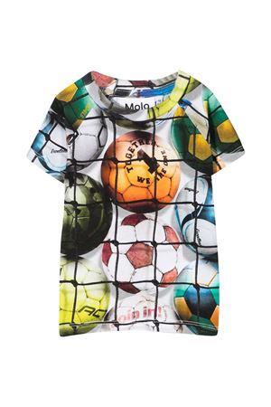 T-shirt bianca con stampa multicolor Molo MOLO | 8 | 3S21A2036239