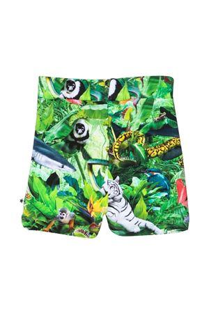 Multicolor print bermuda shorts Molo MOLO | 5 | 3S21H1036242
