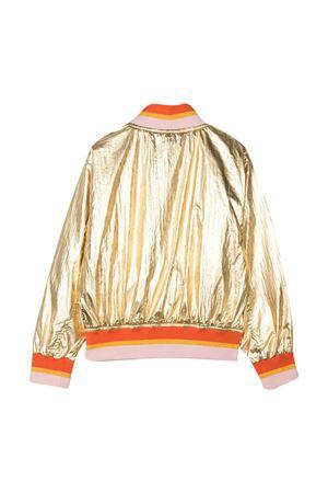 Gold tenn jacket with orange details Molo MOLO | 3 | 5S21M3018229T