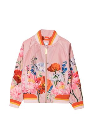 Pink jacket with multicolor print Molo MOLO | 3 | 5S21M3047395