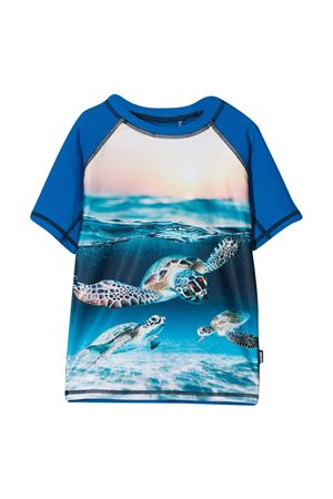 T-shirt blu teen Molo  MOLO | 8 | 8S21P2057342