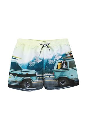 Molo light blue teen Bermuda shorts MOLO | 30 | 8S21P4087341T