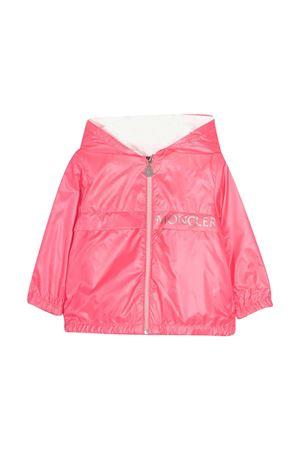 Giacca rosa con stampa Moncler kids Moncler Kids | 13 | 1A7191054A8W52G