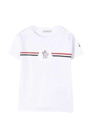 T-shirt bianca Moncler kids Moncler Kids | 8 | 8C717008392E002