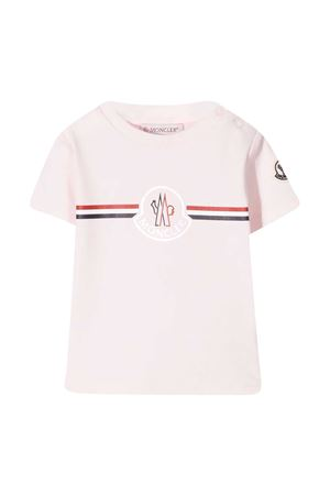 T-shirt rosa Moncler kids Moncler Kids | 8 | 8C717008392E500