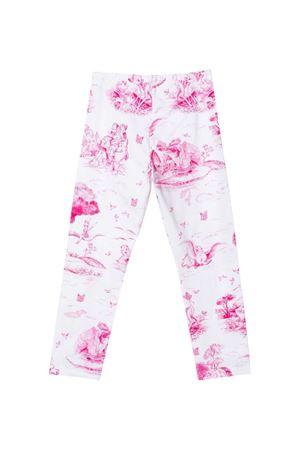 Monnalisa kids white leggings  Monnalisa kids | 411469946 | 11741576289996