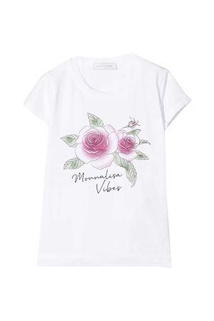 Monnalisa kids white t-shirt Monnalisa kids | 8 | 117614SN72010099
