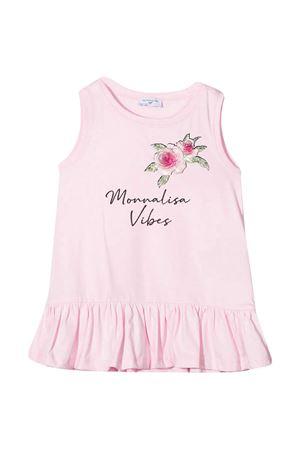 Maxi canotta rosa con stampa Monnalisa kids Monnalisa kids   5032308   117615SV72060090