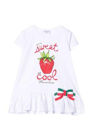 T-shirt bianca Monnalisa kids Monnalisa kids | 5032307 | 117624P472010099