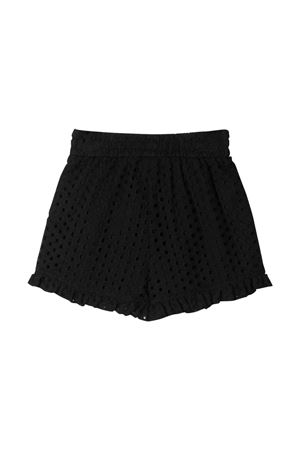 Monnalisa kids teen black shorts Monnalisa kids | 30 | 17740679410050T