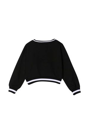 Monnalisa kids crop print sweatshirt Monnalisa kids | -108764232 | 197608SO70020050