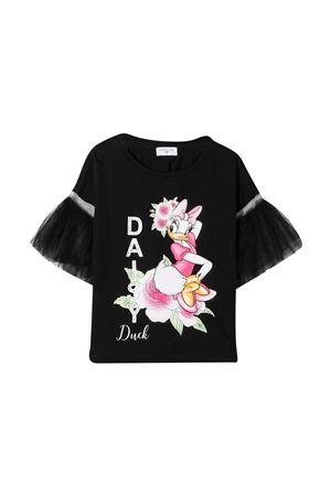T-shirt con stampa Monnalisa kids Monnalisa kids | 5032307 | 197613ST70100050