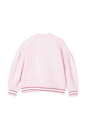 Bomber rosa con stampa Monnalisa kids Monnalisa kids | 1236091882 | 197800S270010090
