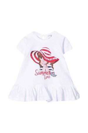 Maxi t-shirt bianca Monnalisa kids Monnalisa kids | 5032307 | 317613P272060099
