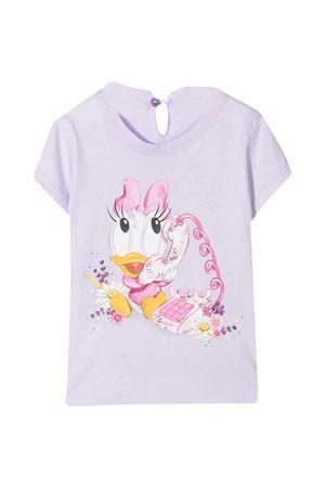 Wisteria t-shirt with multicolor Monnalisa kids print Monnalisa kids | 8 | 317619PH72060065