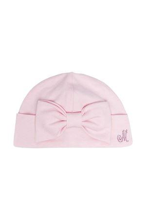 Cappello rosa Monnalisa kids con fiocco Monnalisa kids | -1860987857 | 357CAP70080090