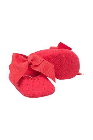Red set Monnalisa kids shoes and headband Monnalisa kids | 75988882 | 37700979400044