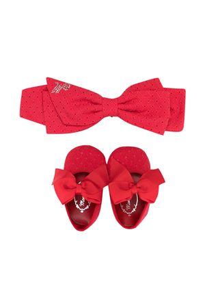 Set neonato scarpe e fascia rossa Monnalisa kids Monnalisa kids | 75988882 | 37700979400044