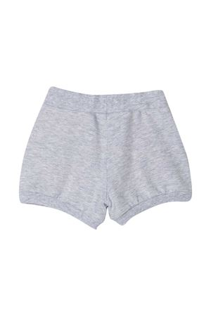 Shorts grigi con applicazione Monnalisa kids Monnalisa kids | 30 | 397416RE70010032