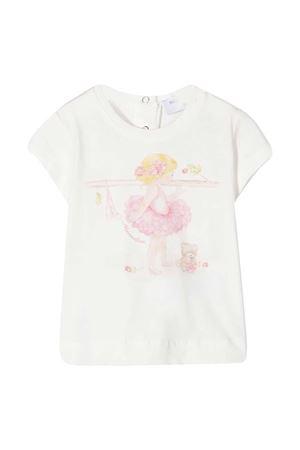 Monnalisa white t-shirt  Monnalisa kids | 8 | 397602SB70100001