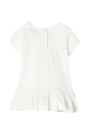 Monnalisa white maxi t-shirt  Monnalisa kids | 5032307 | 397608SK70100001