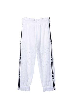 Pantaloni bianchi Monnalisa kids Monnalisa kids   9   41740579040099