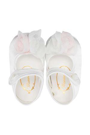 Monnalisa white ballet flats  Monnalisa kids | 12 | 73700171320001