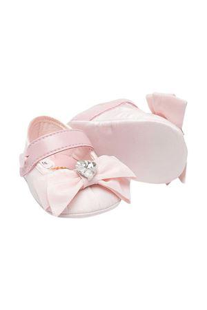 Monnalisa pink ballet flats with matched handband Monnalisa kids | 75988882 | 73700774030092