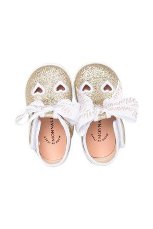 Monnalisa kids glitter platinum ballet flats  Monnalisa kids | 5032315 | 8370097717BG073