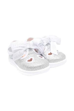 Monnalisa kids glitter silver ballet flats  Monnalisa kids | 5032315 | 8370097717BG075