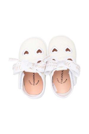 Monnalisa kids glitter white ballet flats Monnalisa kids | 5032315 | 8370097717BG099