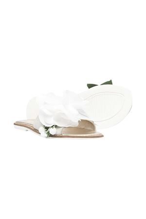 Sandali bianchi teen Monnalisa Monnalisa kids | 5032315 | 87701177090001T