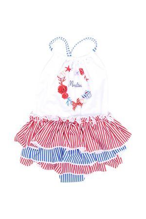 Monnalisa kids striped swimsuit Monnalisa kids | 85 | 93700677439944
