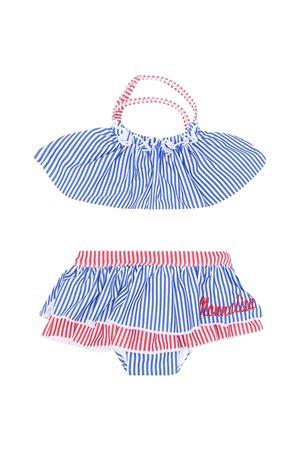 Costume 2 pezzi con stampa a righe rosse e blu Monnalisa kids Monnalisa kids   85   93700777439944