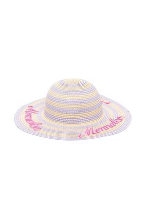 Hat with Monnalisa kids logo Monnalisa kids | 75988881 | 93703170880365