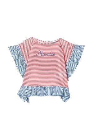Monnalisa kids striped blouse Monnalisa kids | 194462352 | 93790277449944